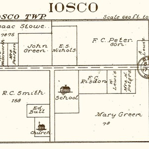 1915 Iosco Post Office (Parkers Corners)